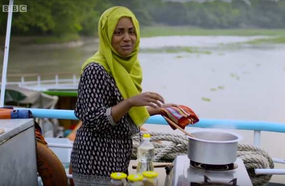 Nadiya Hussain on board Bawali